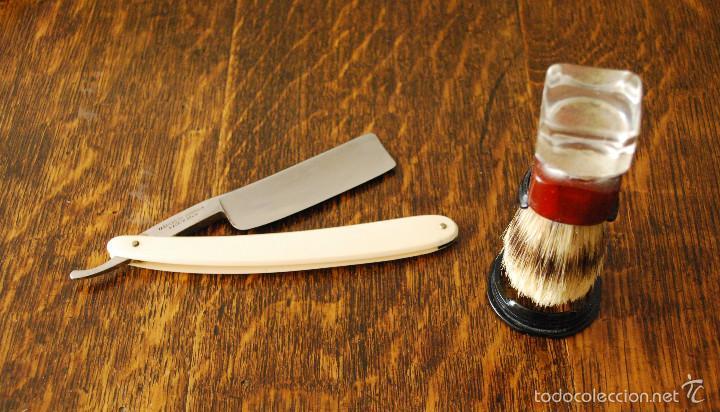 Antigüedades: Gran lote antiguo de afeitado, completo (ver fotos adicionales) - Foto 5 - 57164129