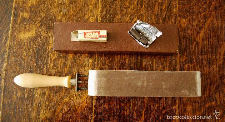 Antigüedades: Gran lote antiguo de afeitado, completo (ver fotos adicionales) - Foto 9 - 57164129