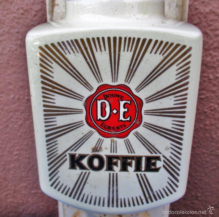 Antigüedades: MOLINILLO DE CAFE DE PARED DOUWE EGBERTS, D.E KOFFIE - Foto 6 - 57165817