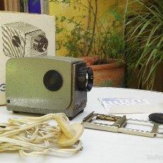 Antigüedades: MINI PROYECTOR DE DIAPOSITIVAS 35 MM. Lote 57226973