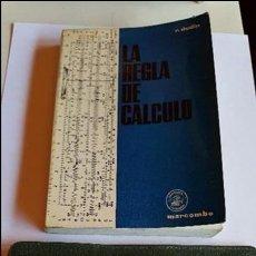 Antigüedades: REGLA DE CÁLCULO CASTELL Y LIBRO DE COMO FUNCIONA LA REGLA DE CÁLCULO. Lote 57228209