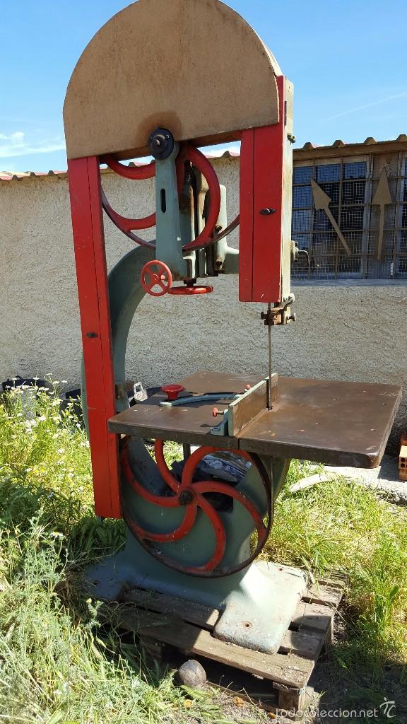 SIERRA DE CINTA PARA MADERA VOLANTE DE 70 (Antigüedades - Técnicas - Herramientas Profesionales - Carpintería )