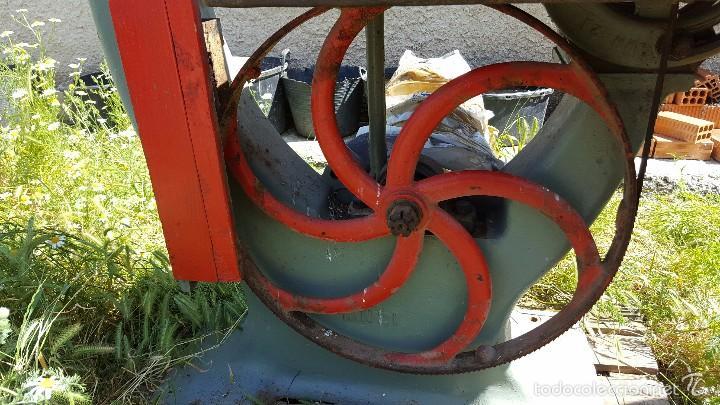 Antigüedades: Sierra de cinta para madera volante de 70 - Foto 4 - 57244671