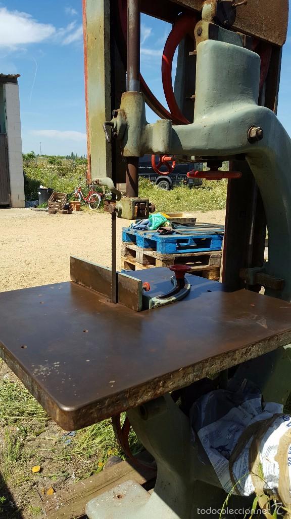 Antigüedades: Sierra de cinta para madera volante de 70 - Foto 6 - 57244671
