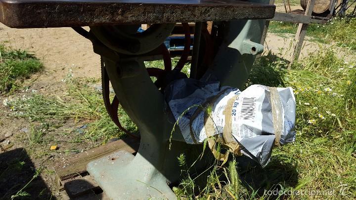 Antigüedades: Sierra de cinta para madera volante de 70 - Foto 7 - 57244671