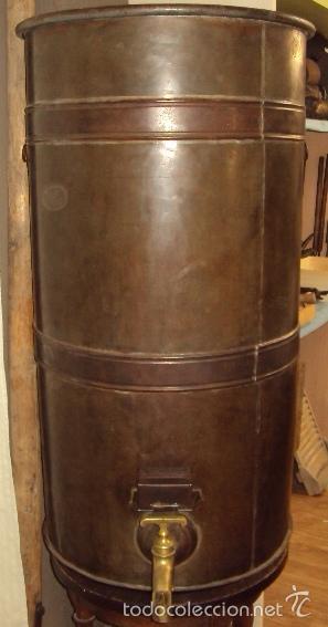 Antigüedades: Gran depósito de aceite posible renfe - Foto 5 - 234794755