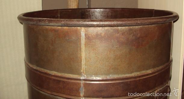 Antigüedades: Gran depósito de aceite posible renfe - Foto 6 - 234794755
