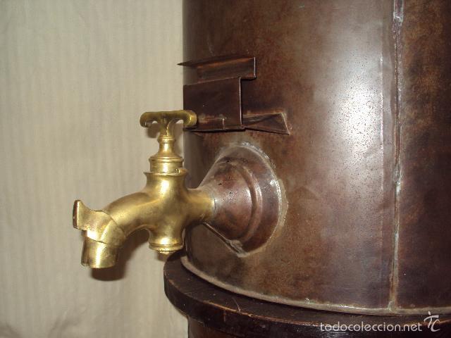 Antigüedades: Gran depósito de aceite posible renfe - Foto 2 - 234794755