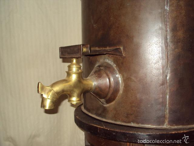 Antigüedades: Gran depósito de aceite posible renfe - Foto 3 - 234794755