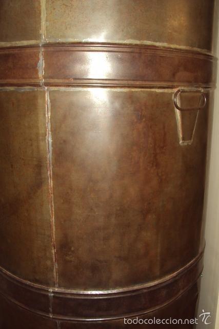 Antigüedades: Gran depósito de aceite posible renfe - Foto 4 - 234794755