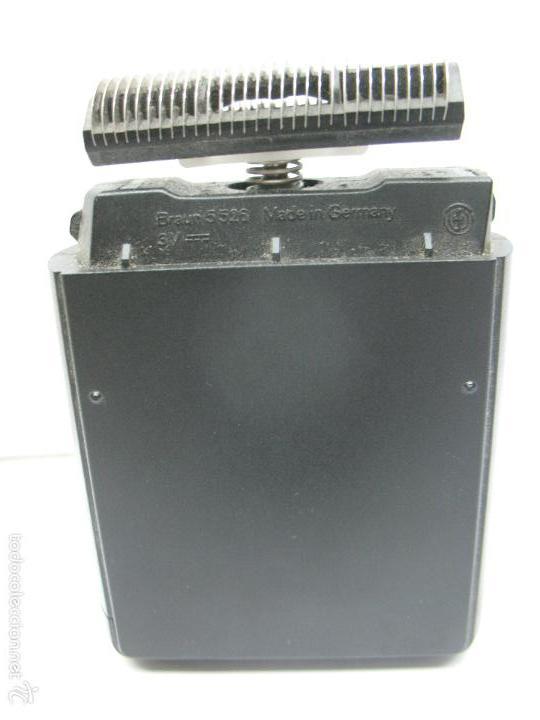 Antigüedades: Braun - Antigua máquina de afeitar con cepillo - Foto 4 - 57252769