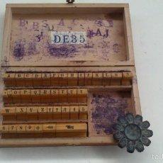 Antiquitäten - pequeña imprenta manual de bolsillo - 57267924