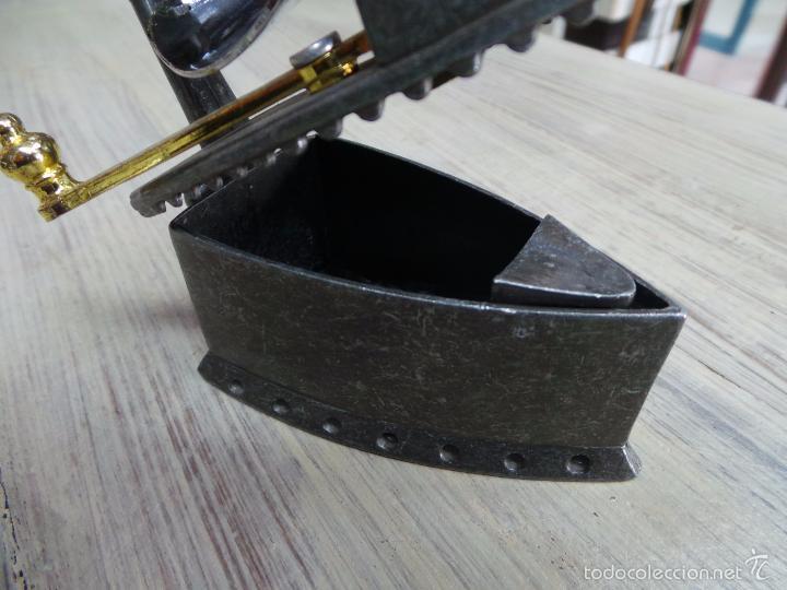 Antigüedades: PLANCHA DE CARBÓN EN MINIATURA - Foto 8 - 153417329