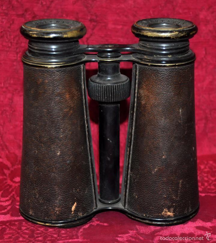 ANTIGUOS PRISMÁTICOS ANTEOJOS DE LA MARCA ARTARIA GENEVE) AÑOS 40 (Antigüedades - Técnicas - Instrumentos Ópticos - Prismáticos Antiguos)