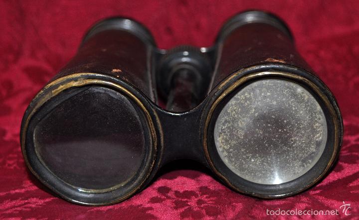 Antigüedades: ANTIGUOS PRISMÁTICOS ANTEOJOS DE LA MARCA ARTARIA GENEVE) AÑOS 40 - Foto 3 - 57296037