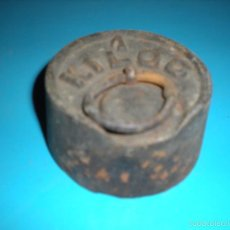 Antigüedades: PESA DE BALANZA ANTIGUA 1KG. Lote 137634854