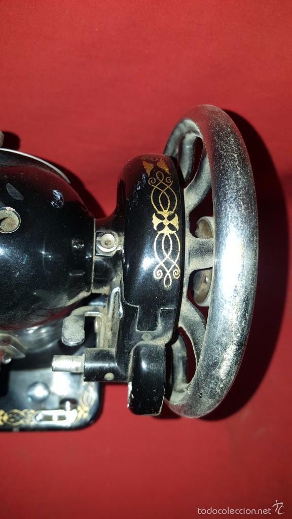 Antigüedades: Cabeza de máquina de coser Sigma. - Foto 3 - 57307589