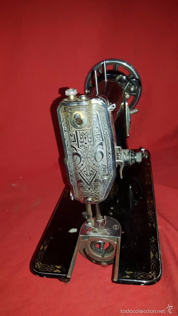 Antigüedades: Cabeza de máquina de coser Sigma. - Foto 4 - 57307589