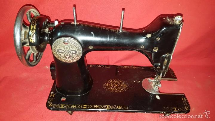 Antigüedades: Cabeza de máquina de coser Sigma. - Foto 5 - 57307589