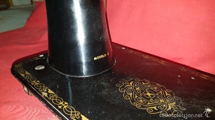 Antigüedades: Cabeza de máquina de coser Sigma. - Foto 6 - 57307589