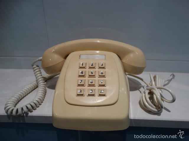 TELEFONO HERALDO LOS PRIMEROS EN BOTONERA (Antigüedades - Técnicas - Teléfonos Antiguos)