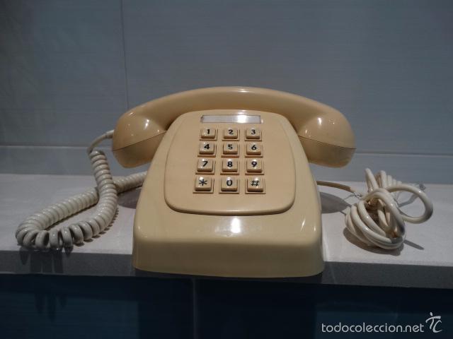 Teléfonos: Teléfono de botonera vainilla - Foto 2 - 26954994