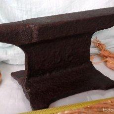 Antigüedades: ANTIGUO YUNQUE, MUY VIEJO. 6,5 KG. ARTESANAL. OLD ANVIL:. Lote 57380485