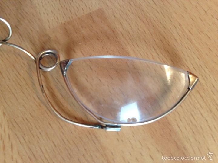 Antigüedades: Gafas Quevedo o anteojos con funda - Foto 2 - 57381915