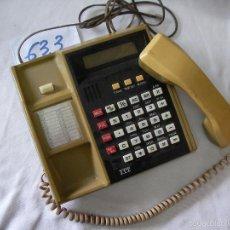 Teléfonos: ANTIGUO TELEFONO ITT DE GRAN TAMAÑO. Lote 57413441