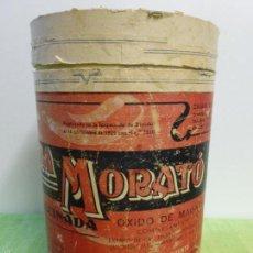 Antigüedades: ANTIGUA CAJA MEDICAMENTO MAGNESIA CALCINADA LABORATORIOS MORATÓ BARCELONA-FARMACIA-ORIGINAL AÑOS 20. Lote 57478077