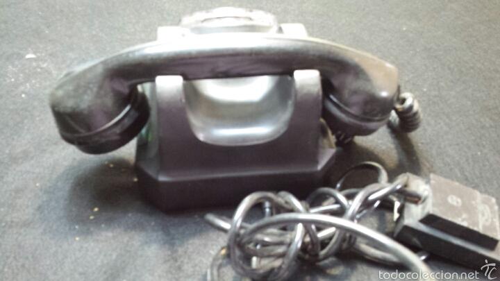 Teléfonos: Antiguo y precioso teléfono año 56 original - Foto 3 - 57495652