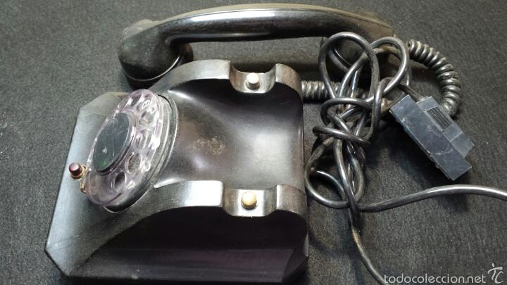 Teléfonos: Antiguo y precioso teléfono año 56 original - Foto 4 - 57495652