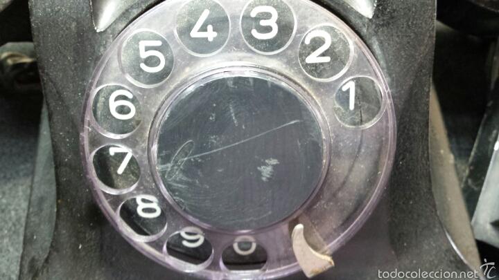 Teléfonos: Antiguo y precioso teléfono año 56 original - Foto 6 - 57495652