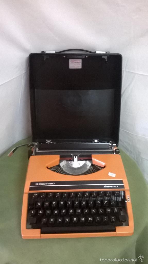 MAQUINA DE ESCRIBIR SILVER (Antigüedades - Técnicas - Máquinas de Escribir Antiguas - Otras)