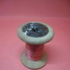 Antigüedades: BOBINA - CARRETE - HILO - FABRA Y COATS - ANCORA ALGODON PARA BORDAR . Lote 57534403