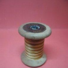 Antigüedades: BOBINA - CARRETE - HILO - FABRA Y COATS - ANCORA ALGODON PARA BORDAR Nº 2089. Lote 57534419