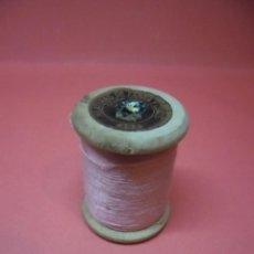 Antigüedades: BOBINA - CARRETE - HILO - FABRA Y COATS - ANCORA ALGODON PARA BORDAR Nº 402. Lote 57534568