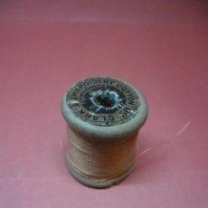 Antigüedades: BOBINA - CARRETE - HILO - FABRA Y COATS - ANCORA ALGODON PARA BORDAR . Lote 57535201