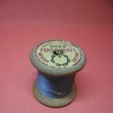 Antiquités: BOBINA - CARRETE - HILO - FABRA Y COATS - ANCORA ALGODON PARA BORDAR Nº 3022. Lote 57535214