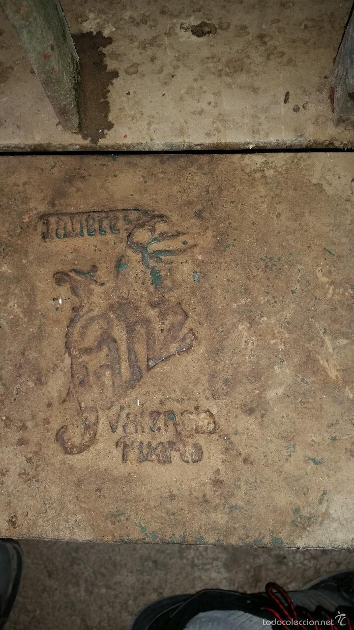 Antigüedades: GRAN BASCULA DE FUNDIDO - Foto 3 - 57537649