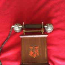 Teléfonos: ANTIGUO TELEFONO KRISTIANIA AKTIESELKAP ELEKTRISK BUREAU - PRINCIPIOS S.XIX. Lote 57554907