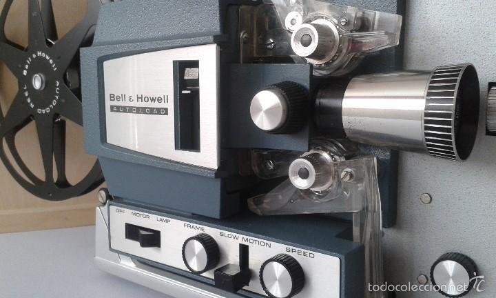 Antigüedades: *INCREIBLE ESTADO* Proyector super 8 - Bell & Howell 482 *FUNCIONANDO, CON MANUAL DE INSTRUCCIONES* - Foto 2 - 57570162