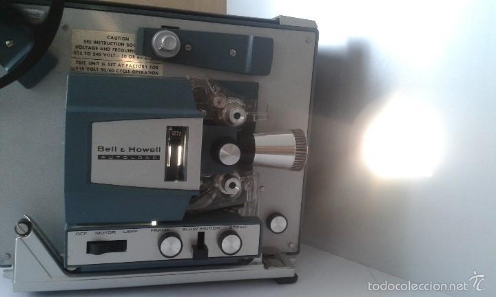 Antigüedades: *INCREIBLE ESTADO* Proyector super 8 - Bell & Howell 482 *FUNCIONANDO, CON MANUAL DE INSTRUCCIONES* - Foto 4 - 57570162