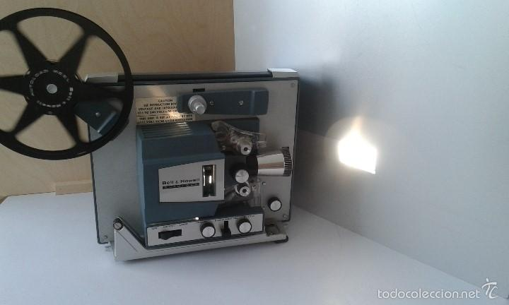 Antigüedades: *INCREIBLE ESTADO* Proyector super 8 - Bell & Howell 482 *FUNCIONANDO, CON MANUAL DE INSTRUCCIONES* - Foto 5 - 57570162