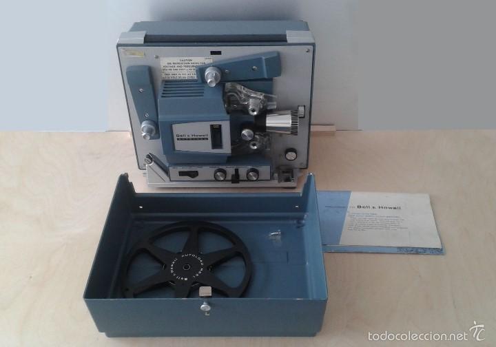 Antigüedades: *INCREIBLE ESTADO* Proyector super 8 - Bell & Howell 482 *FUNCIONANDO, CON MANUAL DE INSTRUCCIONES* - Foto 14 - 57570162