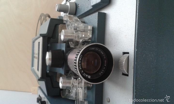 Antigüedades: *INCREIBLE ESTADO* Proyector super 8 - Bell & Howell 482 *FUNCIONANDO, CON MANUAL DE INSTRUCCIONES* - Foto 15 - 57570162