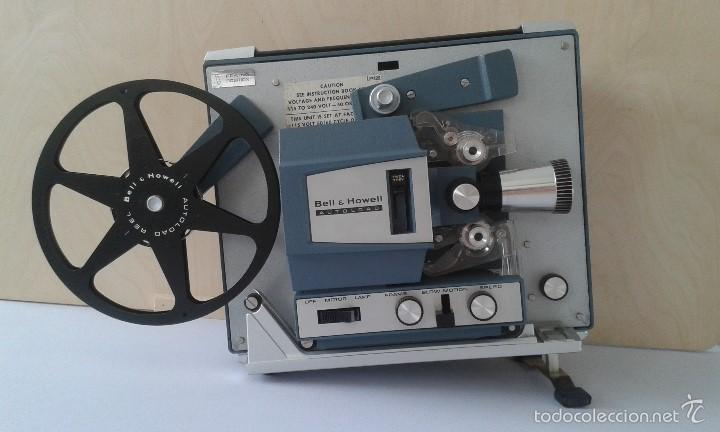 Antigüedades: *INCREIBLE ESTADO* Proyector super 8 - Bell & Howell 482 *FUNCIONANDO, CON MANUAL DE INSTRUCCIONES* - Foto 19 - 57570162