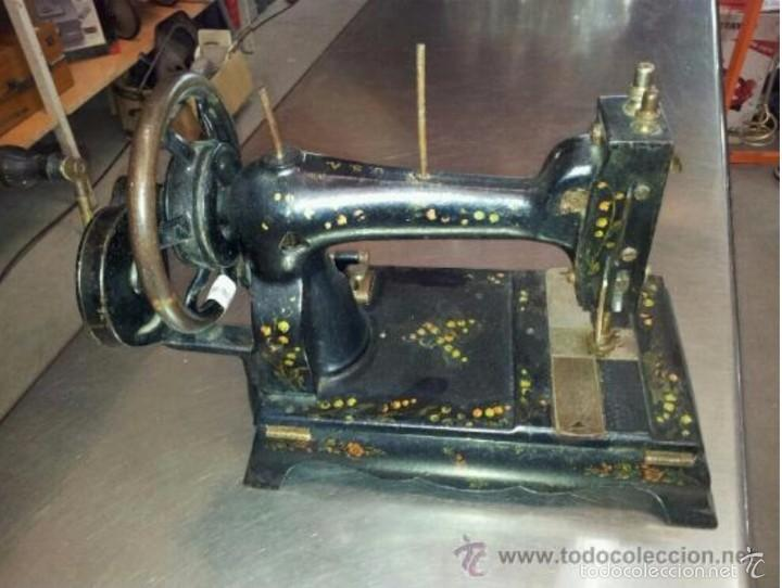 Antigüedades: MAQUINA DE COSER LAMPARA - Foto 3 - 57593592