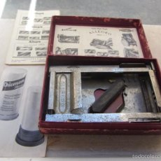 Antigüedades: MÁQUINA AFILAR CUCHILLAS DE AFEITAR ALLEGRO - LEER DESCRIPCIÓN -. Lote 57603655