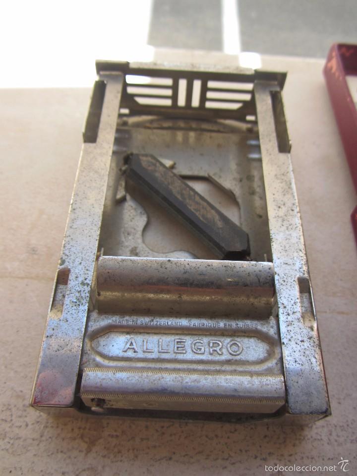 Antigüedades: Máquina Afilar Cuchillas de Afeitar Allegro - Leer Descripción - - Foto 4 - 57603655